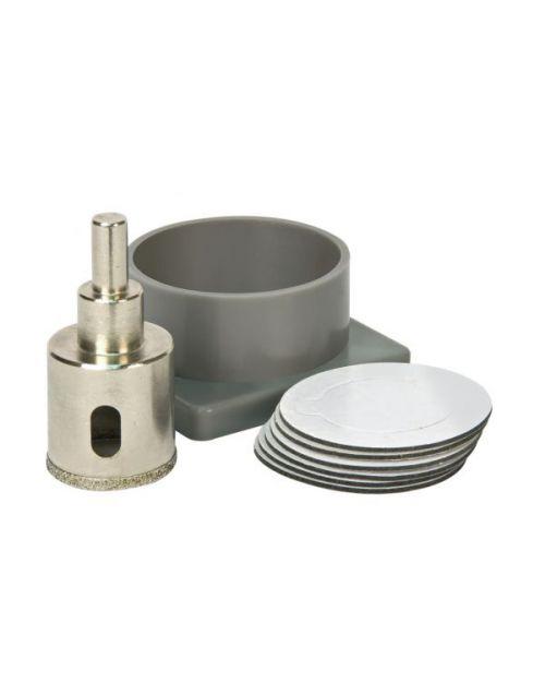 Vitrex Diamond Tile Drill Self Adhesive Kit System - 35mm