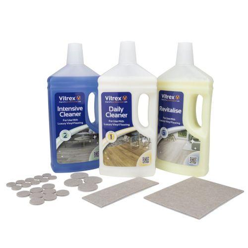 Vitrex LVT Flooring 3 Step Maintenance Kit